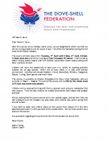 Easter Holiday Sports Letter