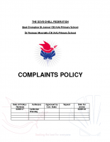 Complaints Procedure Policy and Form