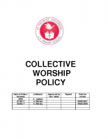 Worship Policy