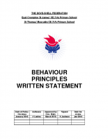 Behaviour Statement