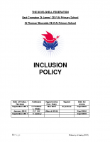 Federation Inclusion Policy – SEPT 17