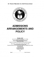 Admissions Policy 2019