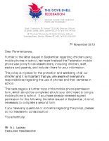 Mobile Phone Use Policy Letter