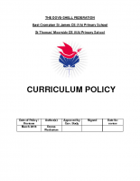 Curriculum Policy July 2018