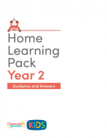 Year 2 Home Learning Pack Guidance and Answers
