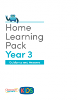 Year 3 Home Learning Pack Guidance and Answers