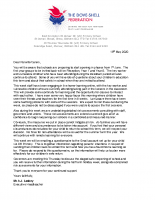 Letter Ref Staged Re-opening